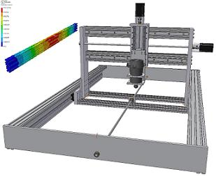Build your own CNC router Step 2: The frame